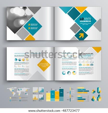 White business brochure template design blue stock vector 487723477 white business brochure template design blue stock vector 487723477 shutterstock wajeb Images