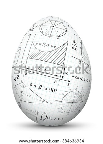 White D Vector Easter Egg Graph Stock Vector   Shutterstock