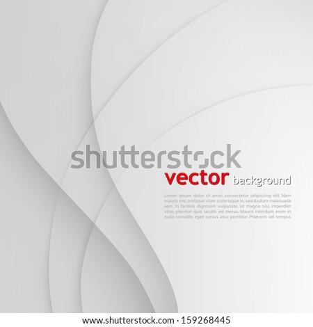 White elegant business background. White background. Vector white. White wave. white lines. Wave white vector. Lines white wave. White lines wave. Elegant white wave lines. White Wavy lines. White - stock vector