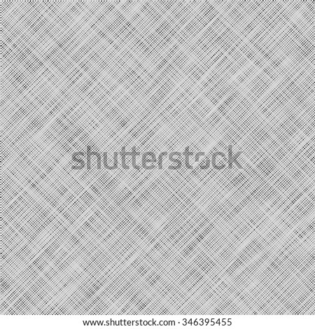 white fabric background with subtle canvas texture - stock vector