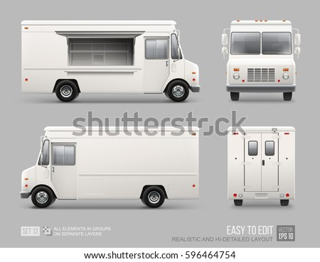 food truck design template blank pictures to pin on pinterest pinsdaddy. Black Bedroom Furniture Sets. Home Design Ideas