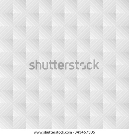 White geometric pattern. Vector background - stock vector