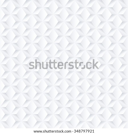White geometric texture - seamless. - stock vector
