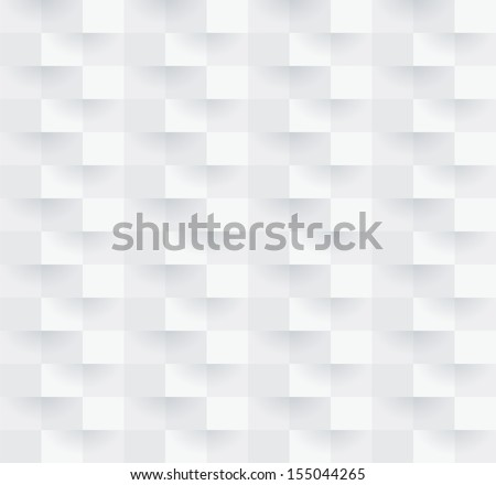 White geometric texture. Vector seamless background. - stock vector