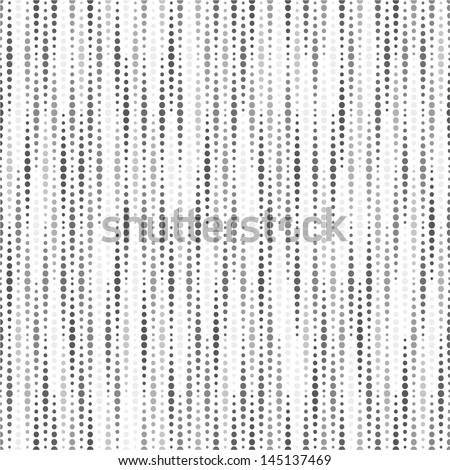White geometric texture. Vector seamless background. Black white pattern. - stock vector
