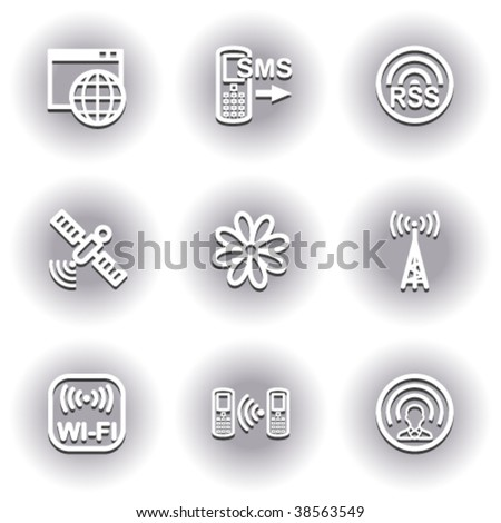 White icons for web 30