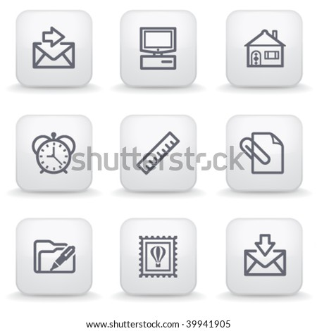 White label for web 27 - stock vector