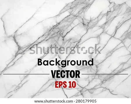 White marble texture Vector background. (High.Res.) - stock vector