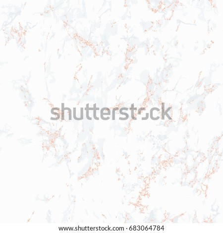 white marble texture seamless. White marble texture with rose gold  Patina effect Seamless pattern Overlay distress grain Marble Texture Rose Gold Stock Vector 683064784