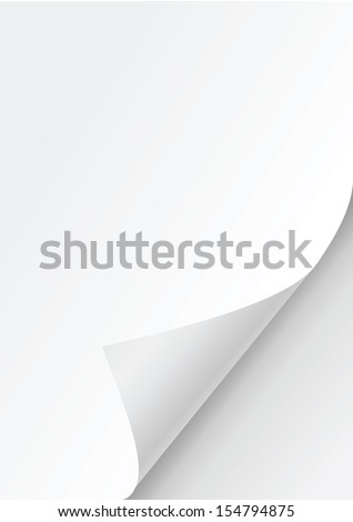 white paper background vector - stock vector