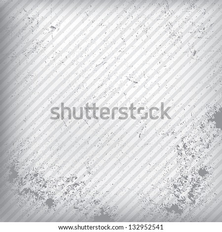 white paper texture as abstract grunge background, Vector EPS 10 - stock vector