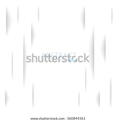 White paper torn background with space for text and message design - stock vector