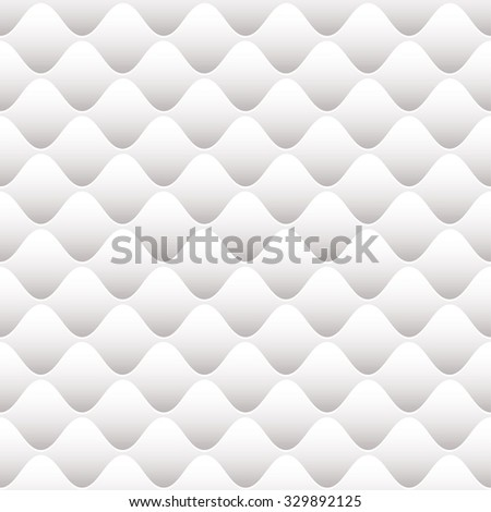 White pillow background with seamless tile design - stock vector