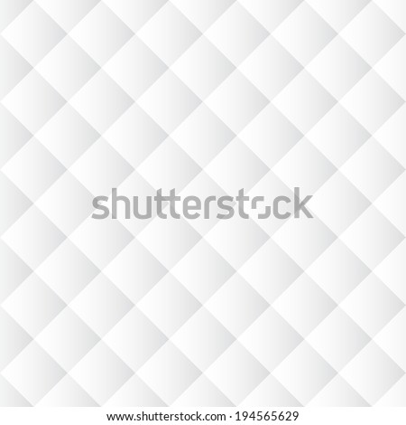 White seamless texture. Abstract vector background. Diagonal geometric pattern. - stock vector