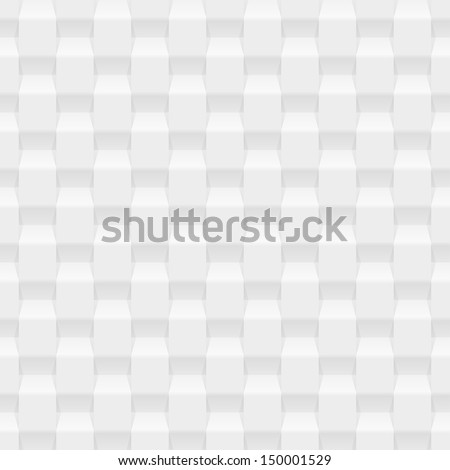 White seamless texture. Vector background - stock vector