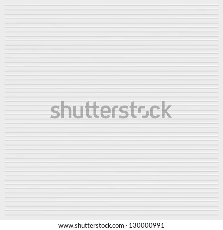 White stripes embossed background texture vector illustration - stock vector