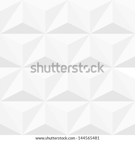 White structured background. Vector seamless pattern - stock vector