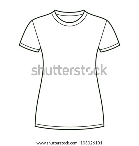 Girl shirt template images galleries for Template for t shirt design