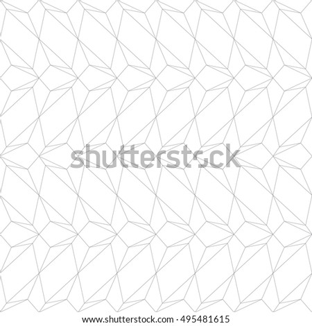 white vintage isometric pattern vector