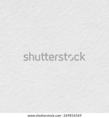 White watercolor paper texture background. Vector illustration - stock vector