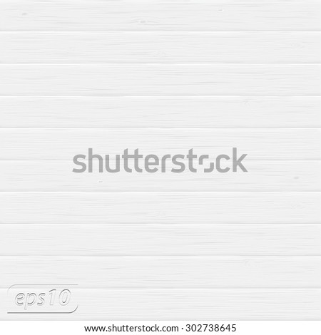 White wood vector background - stock vector