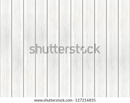 White wooden background - vector illustration - stock vector
