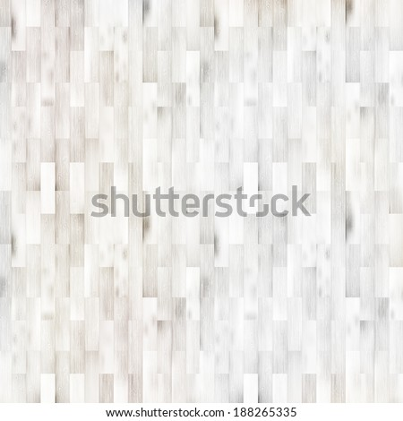 White wooden parquet flooring texture. + EPS10 vector file