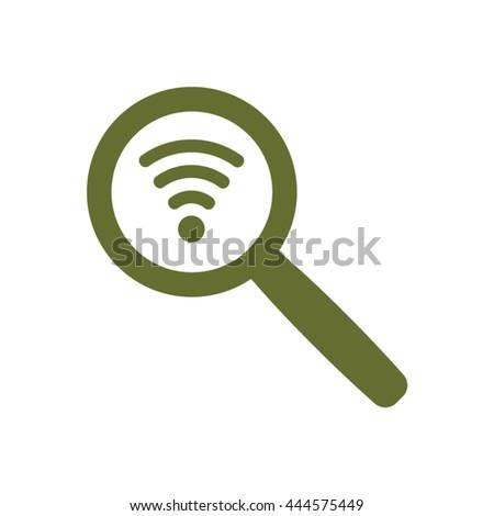 Wi fi Icon, Wi fi icon flat, Wi fi icon picture, Wi fi icon vector, Wi fi icon EPS10, Wi fi icon graphic, Wi fi icon object, Wi fi icon JPEG, Wi fi icon picture, Wi fi icon image, Wi fi icon drawing - stock vector