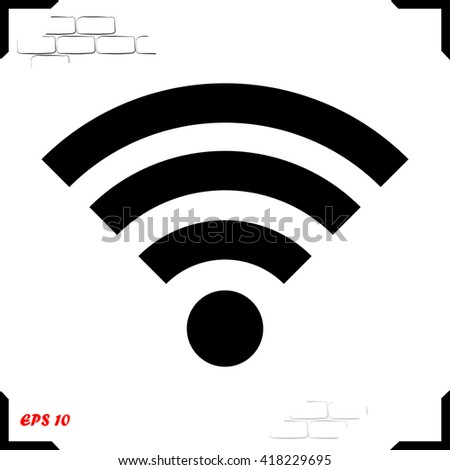 Wifi Icon. Wifi Icon Vector. Wifi Icon JPEG. Wifi Icon Object. Wifi Icon Picture. Wifi Icon Image. Wifi Icon Graphic. Wifi Icon Art. Wifi Icon JPG. Wifi Icon EPS. Wifi Icon AI. Wifi Icon Drawing. - stock vector