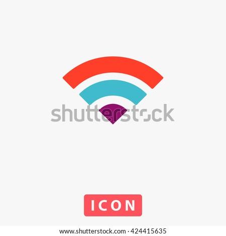 WIFI Icon. WIFI Icon Vector. WIFI Icon Logo. WIFI Icon Object. WIFI Icon Picture. WIFI Icon Image. WIFI Icon Graphic. WIFI Icon Art. WIFI Icon UI. WIFI Icon EPS. WIFI Icon AI. WIFI Icon Drawing - stock vector