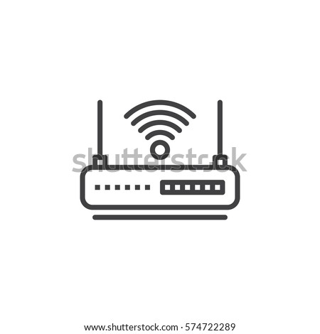 wireless router symbol printer symbol wiring diagram