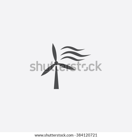 wind power Icon. wind power Icon Vector. wind power Icon Art. wind power Icon eps. wind power Icon Image. wind power Icon logo. wind power Icon Sign. wind power Icon Flat. wind power Icon design - stock vector