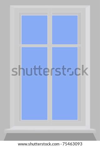 Window - stock vector