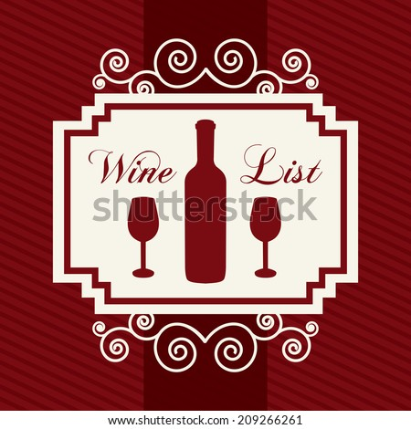 Art Poster Wine Tasting Best Sketches Stock Vector 443582152 ...