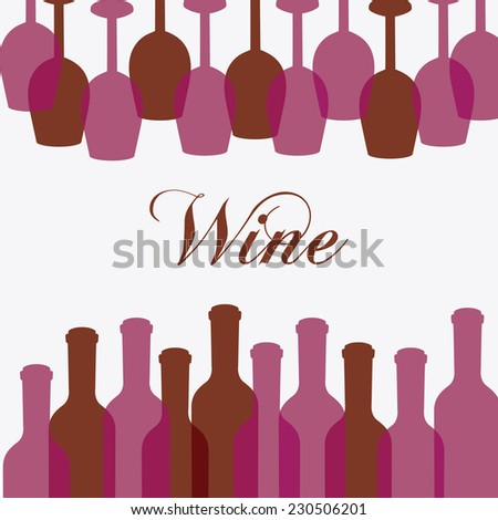 wine graphic design , vector illustration