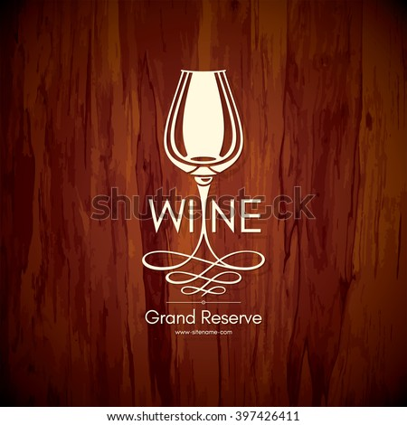 Wine logo stock images royalty free images vectors for Wine brochure template free