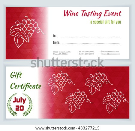 Layout red vector wine fotografie snmky pro leny zdarma a wine tasting certificate template wine tasting flyer wine tasting concept vector wine tasting yelopaper Image collections