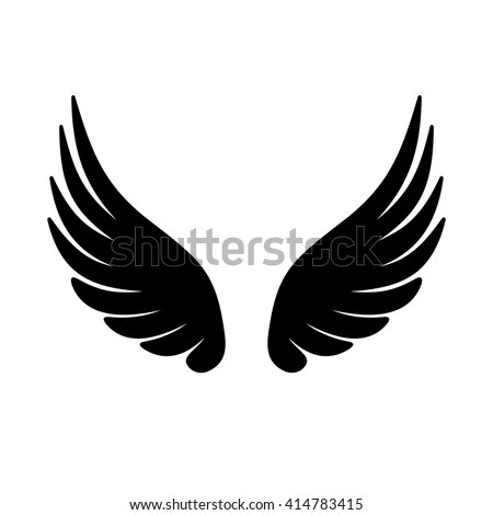 Wing Icon. Vector - stock vector