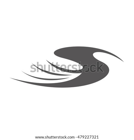 wing logo design, wing abstract vector