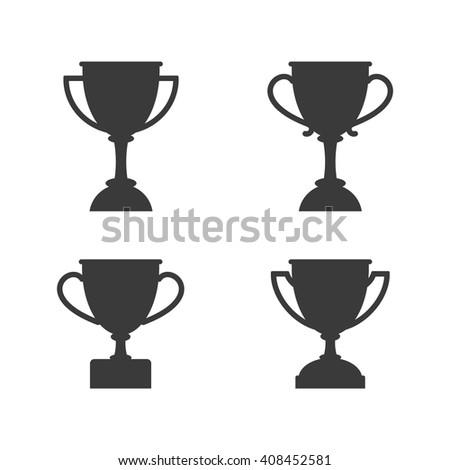 Winner Cup Silhouette Set