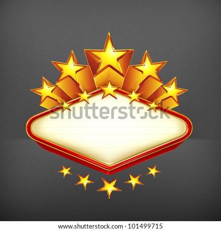 Winner, emblem 10eps - stock vector