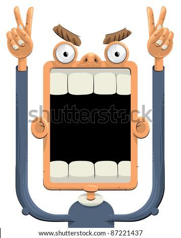 Big Teeth Stock Vectors, Images & Vector Art | Shutterstock