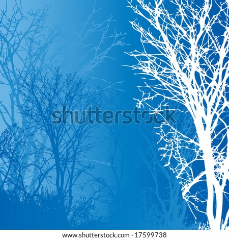 Winter background.