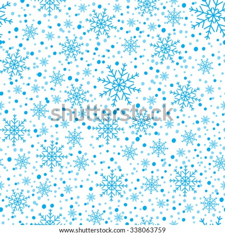 Winter background. - stock vector