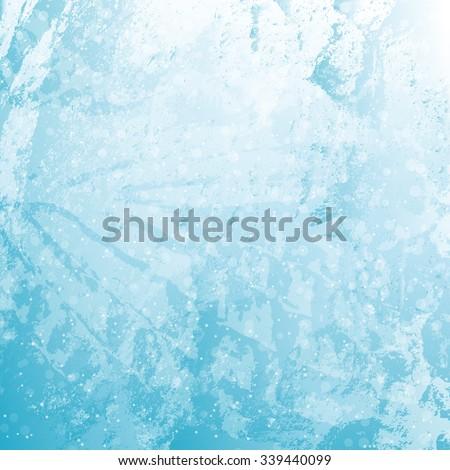 Winter background - stock vector