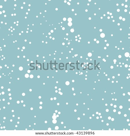 Winter blizzard, seamless background for your design - stock vector