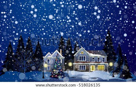 Christmas Night Stock Images, Royalty-Free Images & Vectors ...