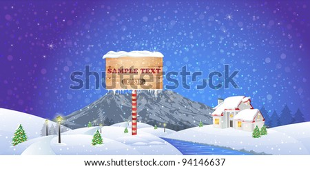 Snow in the river stock photos illustrations and vector art