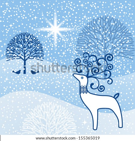 Word Winter Capped Snow Ice Lines Stock Vector 42476311 - Shutterstock