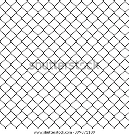 wire fences - stock vector